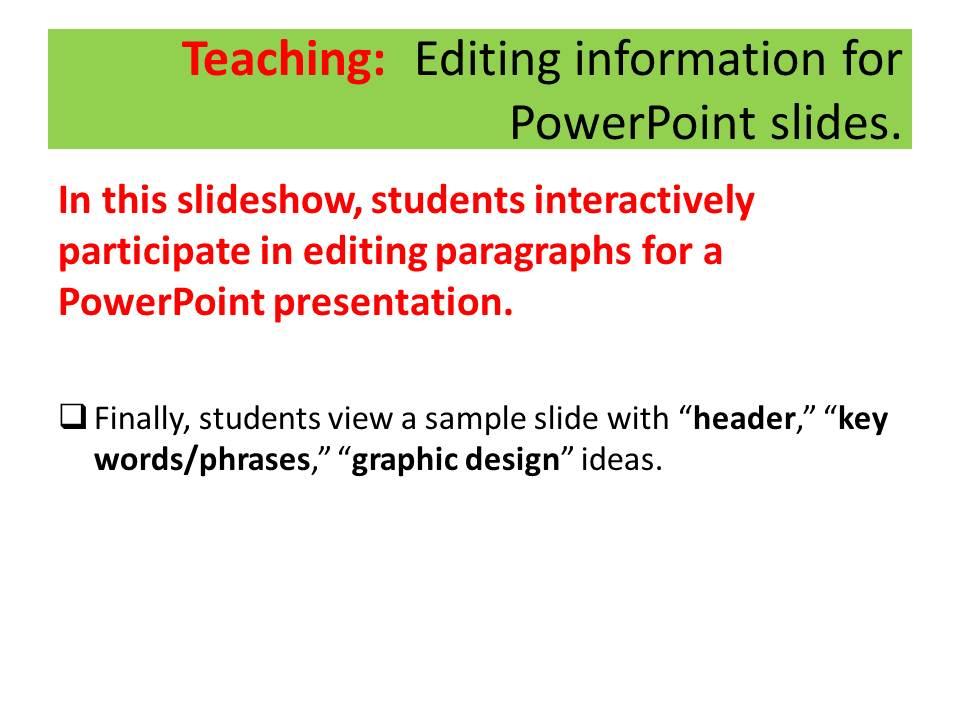 Persuasive speech powerpoint slides